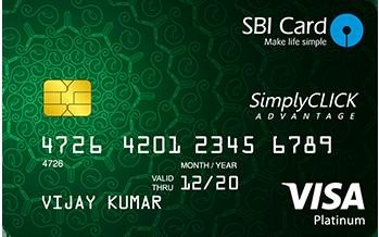 Sbi-Simply-Click-Credit-Card