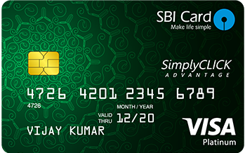 Sbi-Simply-Click-Credit-Card